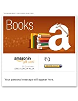 Amazon Book Stacked - Email Amazon.in Gift Card
