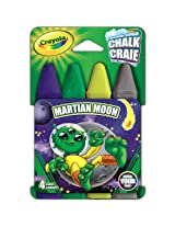 Crayola Build Your Box Martian Moon Chalk (4 Count)