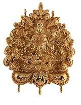 Ganapathy Gems 1 Gram Gold Plated Lakshmi Design Pendant Earing Set (6950)