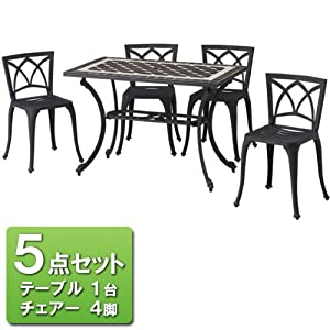 G-Style リーリオ モザイクテーブル 5点セット