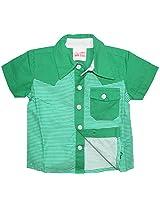FS Mini Klub Baby Boys Cotton Shirt - (18-24 Months)