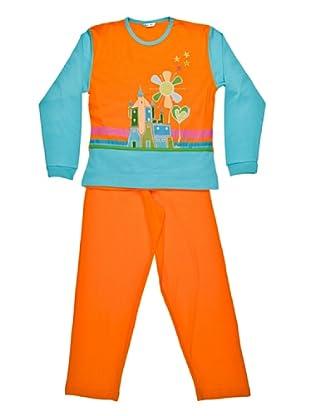 Bkb Pijama Niña (naranja)