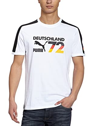 Puma T-Shirt Football Archives T7 Ringer (white-germany)