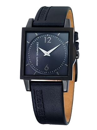 Adolfo Dominguez Watches 69092 - Reloj de Señora cuarzo correa de piel Negra