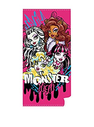 Monster High Toallas De Playa Amigas (Rosa)