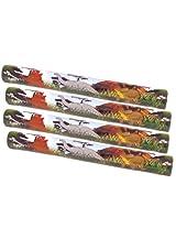 WeGlow International Dinosaur Foam Baton, Set of 4