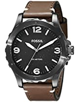 Fossil Analog Black Dial Men's Watch - JR1450
