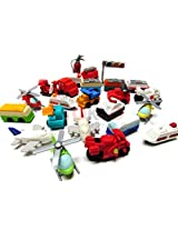 10 Assorted Iwako Eraser - Vehicle Collection (Erasers will be randomly selected from the image show