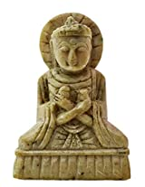 Lord Buddha (Carved Stone for Pendant Setting) - Agate