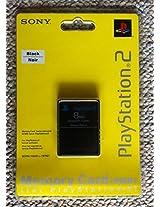 Generic PS2 8MB Memory Card (Black)