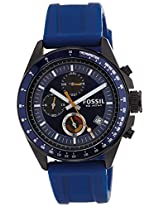 Fossil End of Season Decker Analog Blue Dial Men's Watch - CH2879I