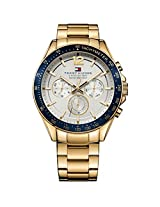 Tommy Hilfiger Men's 1791121 Sophisticated Sport Analog Display Quartz Gold Watch
