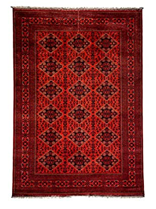 Darya Rugs Traditional Oriental Rug, Red, 9' 8