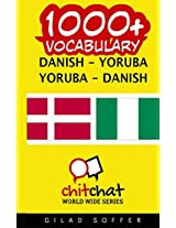 1000+ Danish-yoruba Yoruba-danish Vocabulary