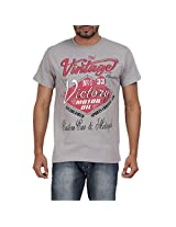 Mens Vintage Themed Graphic Tee