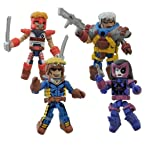 Marvel Classic X-Force Minimates 4-pk. Mini Action Figures by Diamond Select Toys