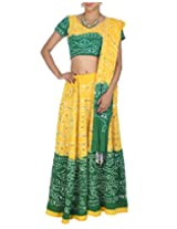 Rajrang Womens Cotton Classic Lehenga Cholis (Lhg00455 _Yellow _Long)