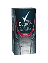 Degree Men Clinical Antiperspirant, Sport Strength 1.7 oz (pack of 2)