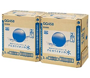 [2CS] キリン アルカリイオンの水 (2L×6本)×2箱