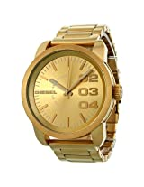 Diesel Franchise All Gold Ion-plated Unisex Watch -DZ1466