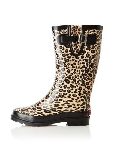 Chooka Women's Cheetah Rain Boot (Multi)