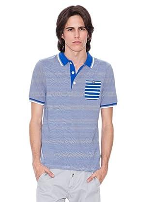 Gio Goi Polo Paolo (azul / blanco)