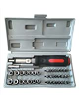 Synergy - 41 Pieces - High Quality Multipurpose Tool Kit - For Home And Professional Use