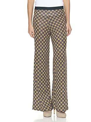 SIYU Pantalón Mosaico (Amarillo)