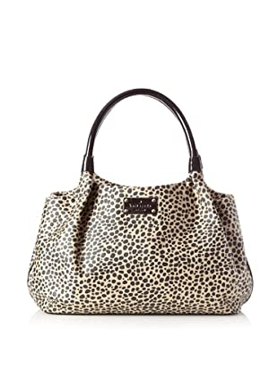 Kate Spade Women's Classic Stevie Satchel, Neutral/Black