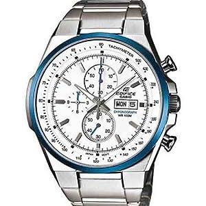 Casio EX049 Edifice Men's Watch-Silver