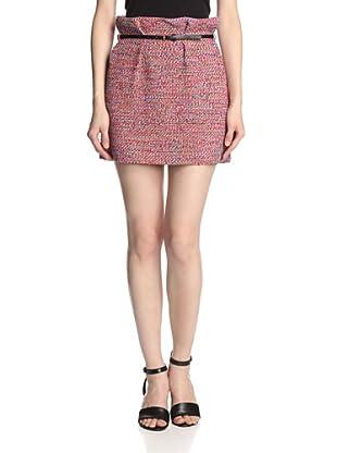 M Missoni Women's Striped Skirt (Orange Multi)