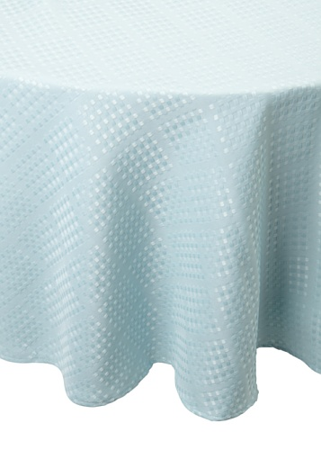 Bardwil Evolution Round Tablecloth (Sea)