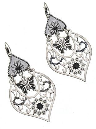 Anna Biblò Orecchini Cuore Farfalla