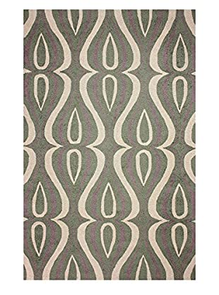 nuLOOM Hand-Hooked Luciano Area Rug