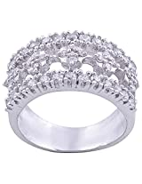 BJ JEWELS R155 92.5% Sterling Silver Ring For Women