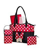 Disney 5 in 1 Tote Diaper Bag, Minnie