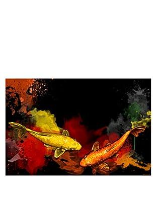 Maxwell Dickson Koi Canvas Art