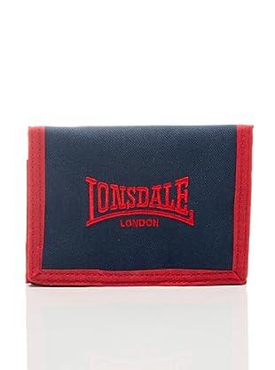 Lonsdale Portafoglio Bedford (Blu/Rosso)