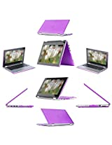 "iPearl mCover Hard Shell Case for 13.3"" Dell Inspiron 13 7347 / 7348 2-in-1 Convertible Laptop (PURPLE)"