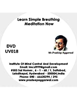 Learn Simple Breathing Meditation Now, DVD