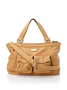 Hlaska Artifacts Women's Artifact V3 Structured Tote with Pockets (Tan)