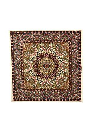 Eden Teppich Kerman lehmbraun/mehrfarbig 200 x 198 cm