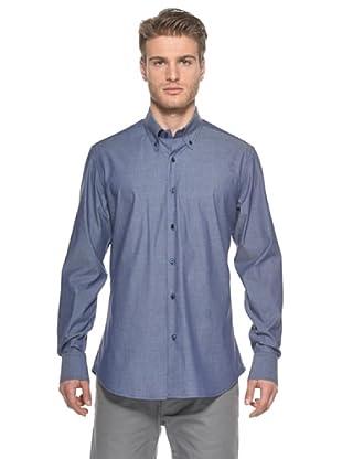 Ballantyne Camisa (Azul Denim)