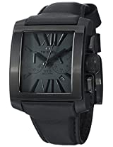Men'S Grey Dial Black Leather (Ce3013)