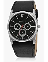 759Lslb1-O Black/Black Analog Watch Skagen