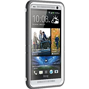 Otterbox Defender Series for HTC One Max - Frustration-Free Packaging - Glacier (White/Gunmetal Grey)