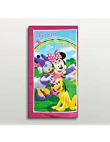 Disney Mickey Mouse Club House Minnie And Daisy Bath Towel from Sassoon