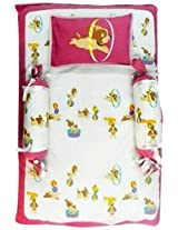 Beebop Bed Sets, 4 Piece - Bowie Wowie (Pink)