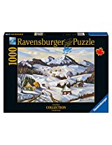 Ravensburger Winter in Charlevoix Canadian Collection Canadienne Puzzle (1000-Piece)