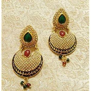 Mirraw Designer Jhumka Jewellery Earrings